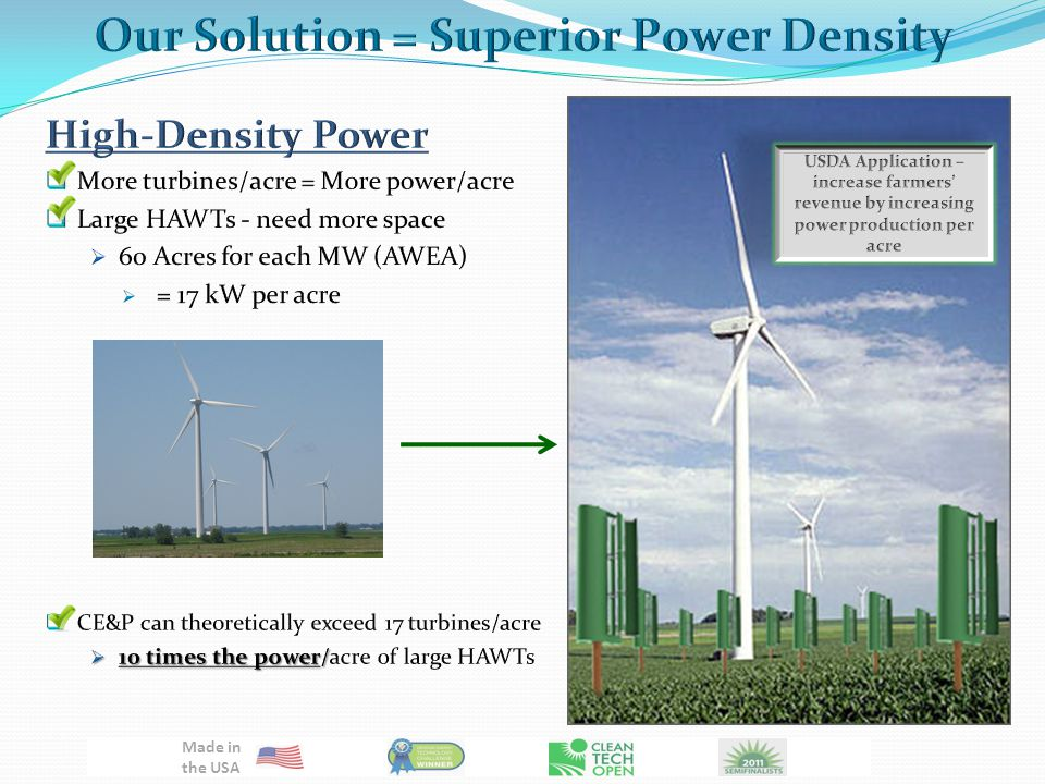 Data based on Rayleigh Distribution of Wind Speeds and Cal-ePower 10 kW Theoretical Power Curve