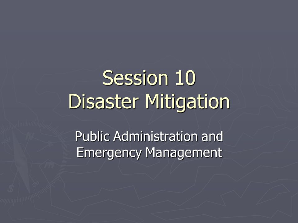 Major Administrative Issues ► Securing funding for damage to public facilities and infrastructure and reimbursement for local government expenditures during the disaster operation will take time.