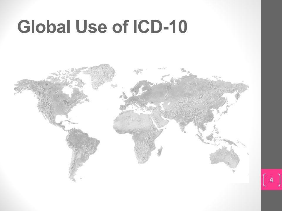 Global Use of ICD-10 4