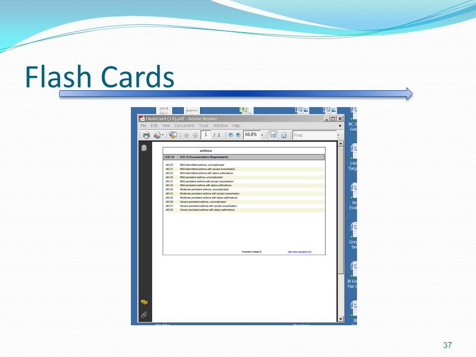 Flash Cards 37