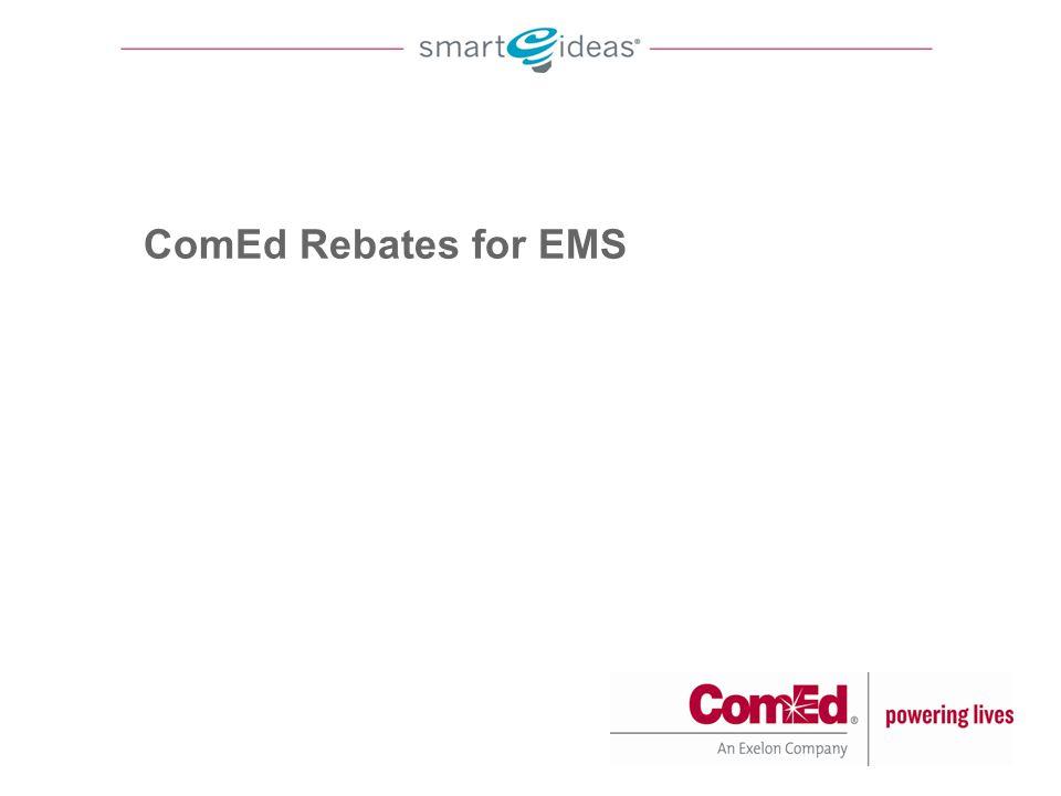 ComEd Rebates for EMS