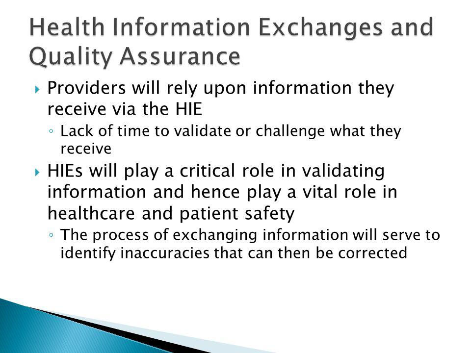 Claims data, including ICD-9/10-CM, may create data integrity issues if used in clinical application without proper quality assurance and refinement processes in place  Complex clinical expressions can be difficult to accurately represent as codified data abstracted from clinical records, regardless of the terminology that is being used  The adoption of standards is an evolving process  Recommendations: ◦ Adopt processes which identify and ameliorate data integrity issues that may impact healthcare  Whenever possible, maintain linkages to source documentation ◦ Educate stakeholders as to the challenges of interoperability and methods to avoid potential errors in data collection, sharing and usage ◦ Research and test methods of sharing data in a way that preserves the full context and meaning of the information being shared
