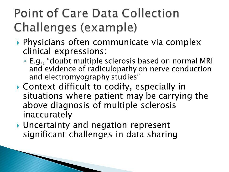 Common language that enables a consistent way of indexing, storing, retrieving, and aggregating clinical data across specialties and sites of care. Developed by U.S.