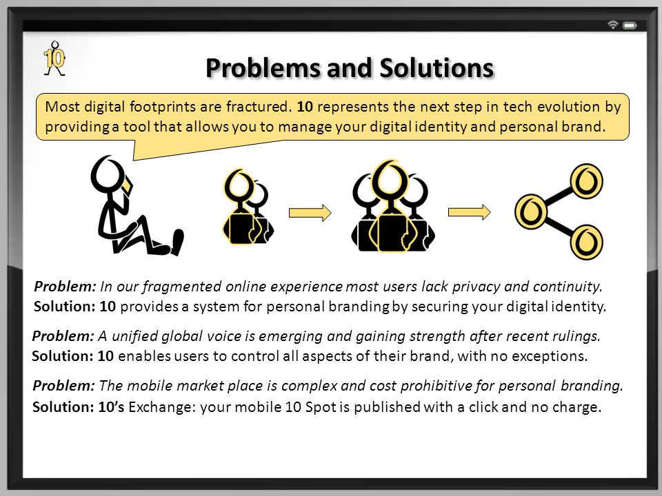 Problem: In our fragmented online experience most users lack privacy and continuity.