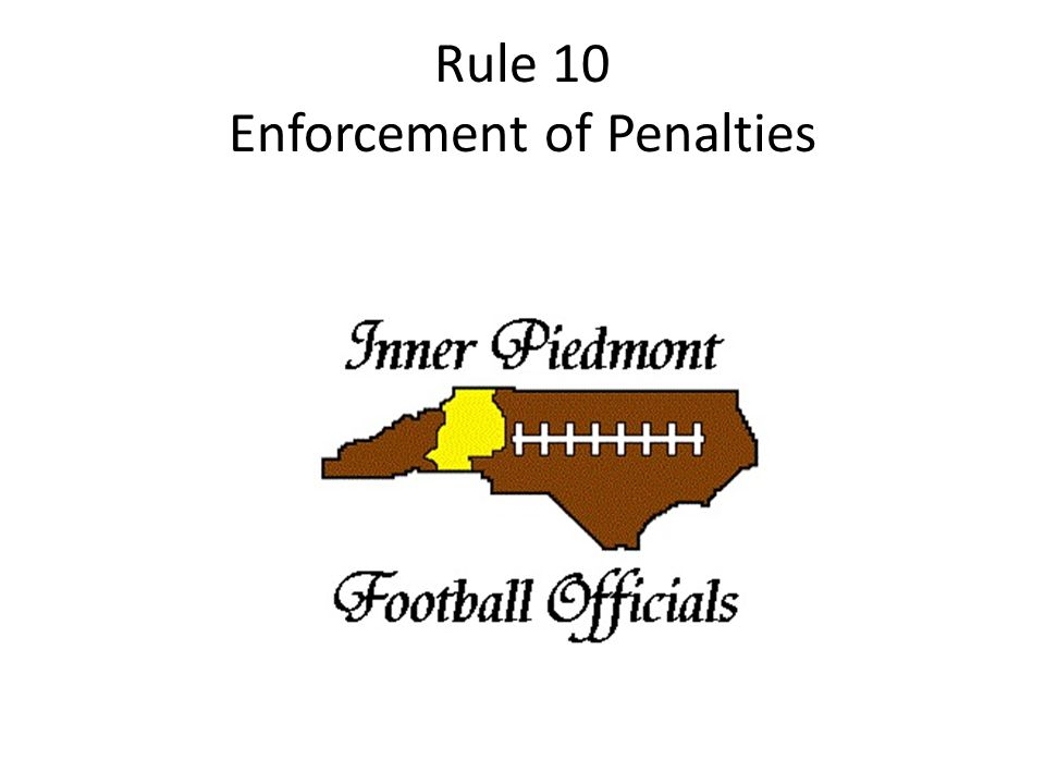 Rule 10 Enforcement of Penalties