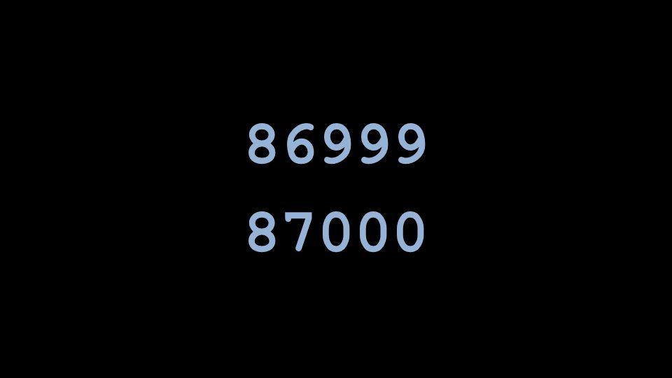 86999 87000