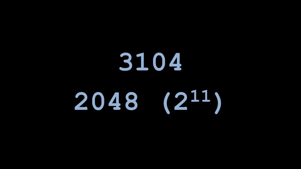 2048 (2 11 )