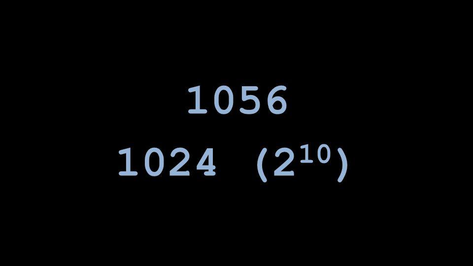 1024 (2 10 )