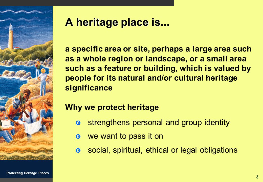 24 Protecting Heritage Places Understand the land and everything on it so you can manage it properly David Burrumarra MBE Elcho Island, Northern Territory