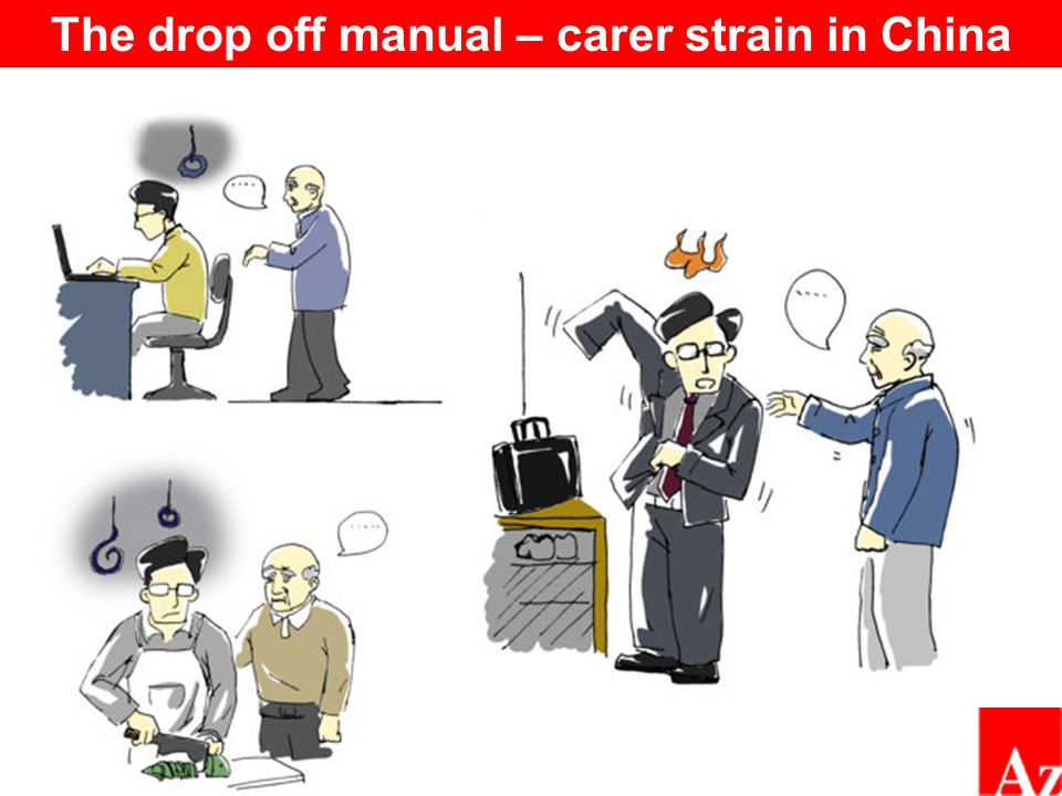 The drop off manual – carer strain in China