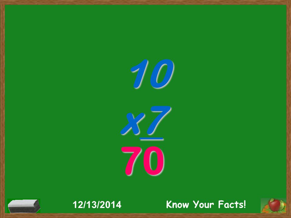 10 x7 70 12/13/2014 Know Your Facts!