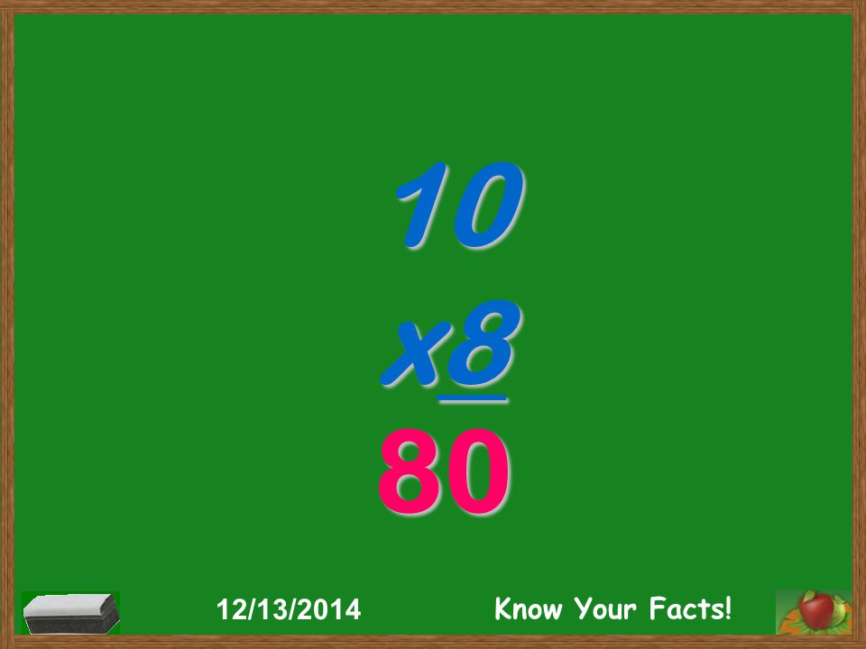 10 x8 80 12/13/2014 Know Your Facts!