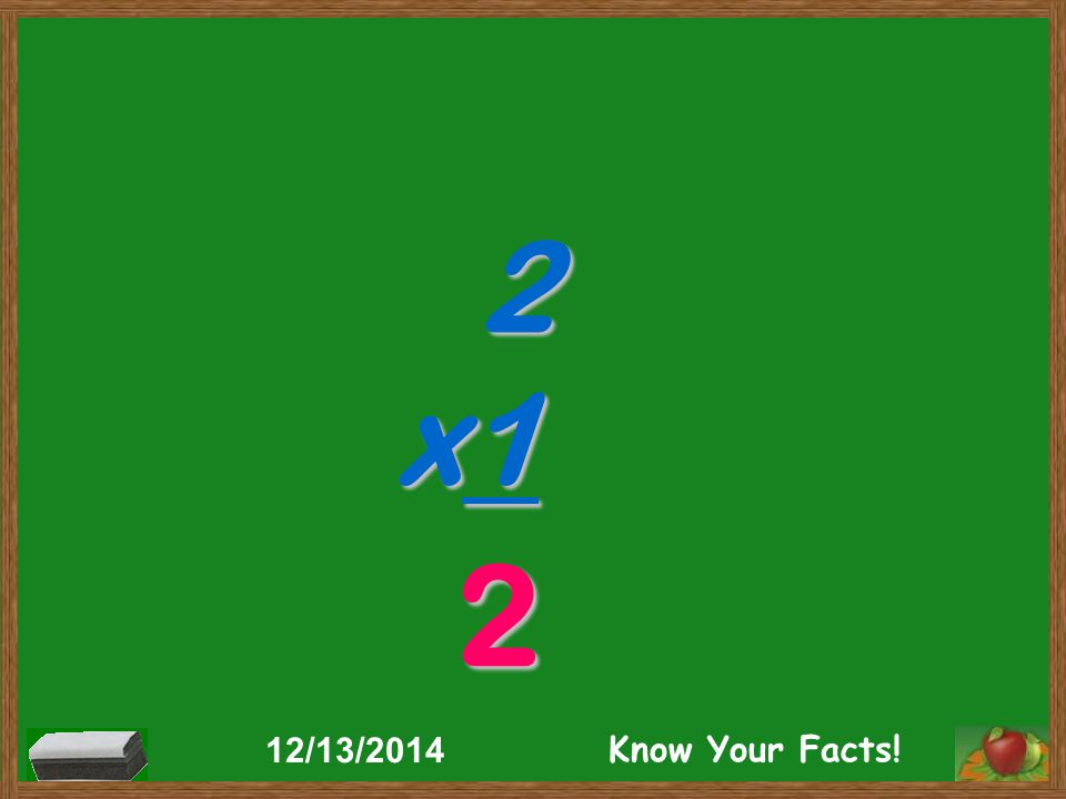 2 x1 2 12/13/2014 Know Your Facts!
