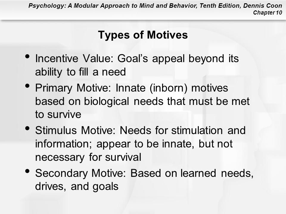 Psychology: A Modular Approach to Mind and Behavior, Tenth Edition, Dennis Coon Chapter 10 Figure 10.9
