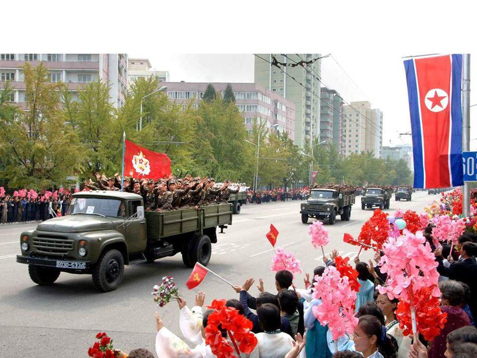 N. Korea 65 th Anniversary / Kim Jong Un annointed North Korea's next leader PYONGYANG, North Korea -- North Korean leader Kim Jong Il and his son, he