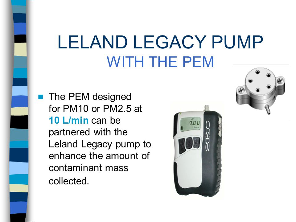 PM IN INDOOR AIR SINGLE-STAGE IMPACTORS Method IP-10A in the U.S.