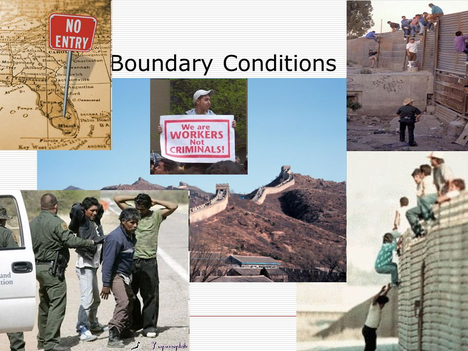  We have two materials  How the fields behave @ interface? Boundary Conditions