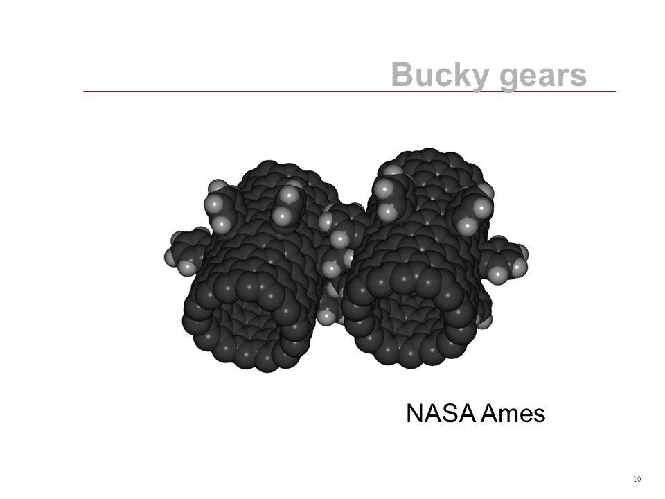 10 Bucky gears NASA Ames