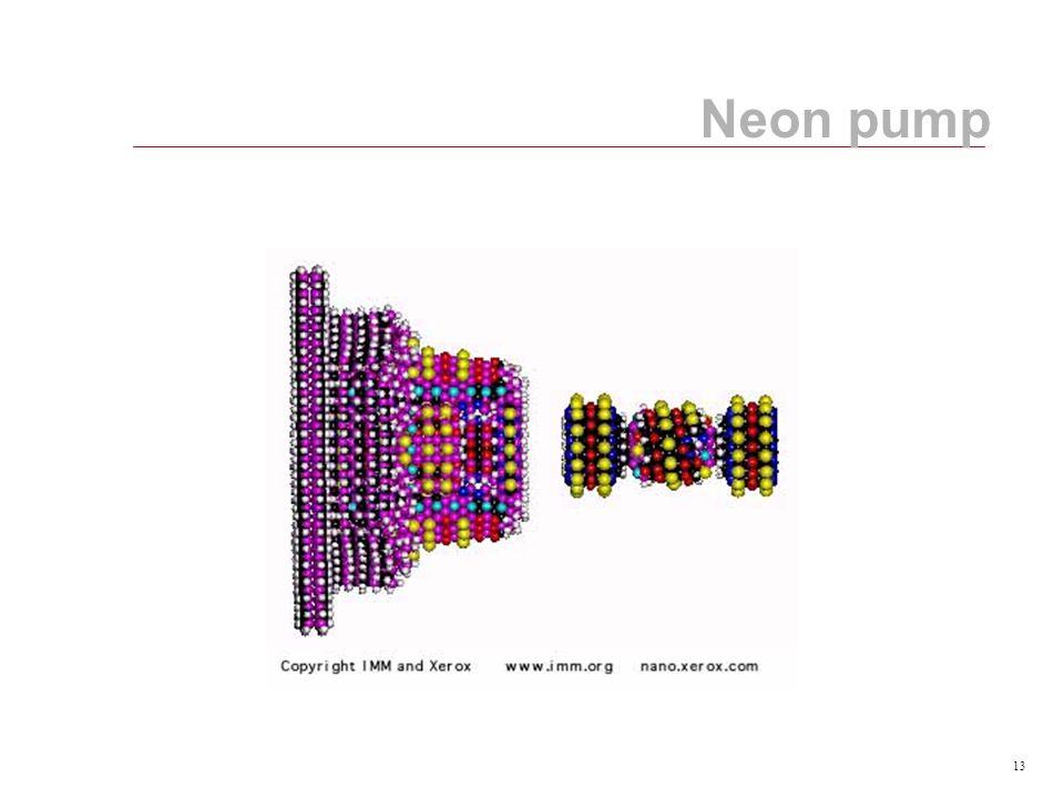 13 Neon pump