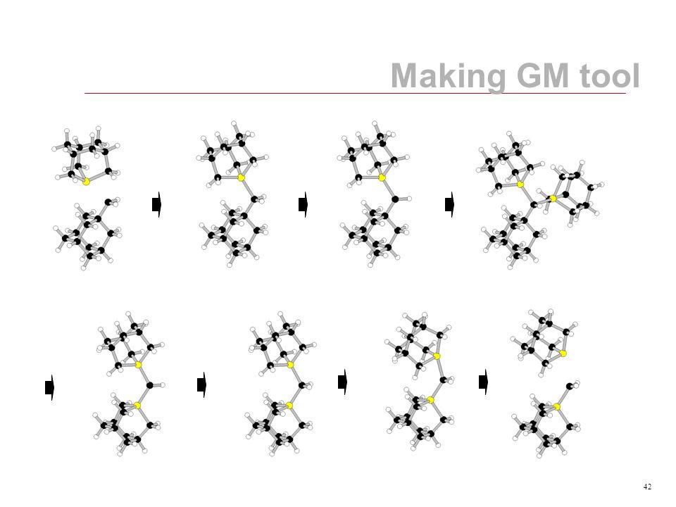 42 Making GM tool