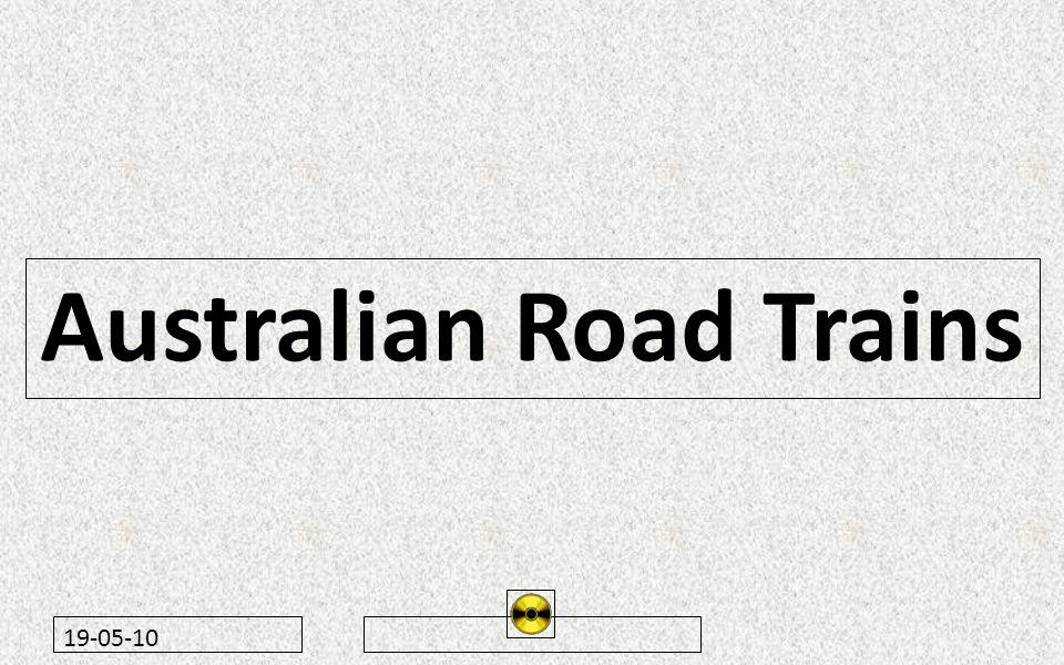 19-05-10 Australian Road Trains