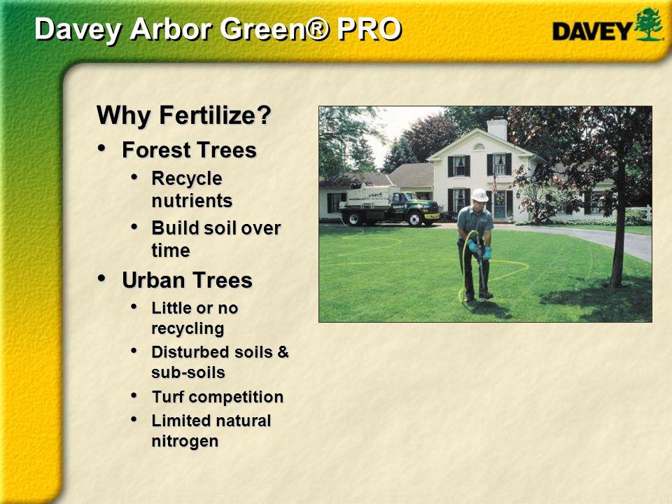 Thank you Thank You For further information regarding Arbor Green PRO Contact: David Fritz 952-217-3375 David.Fritz@davey.com