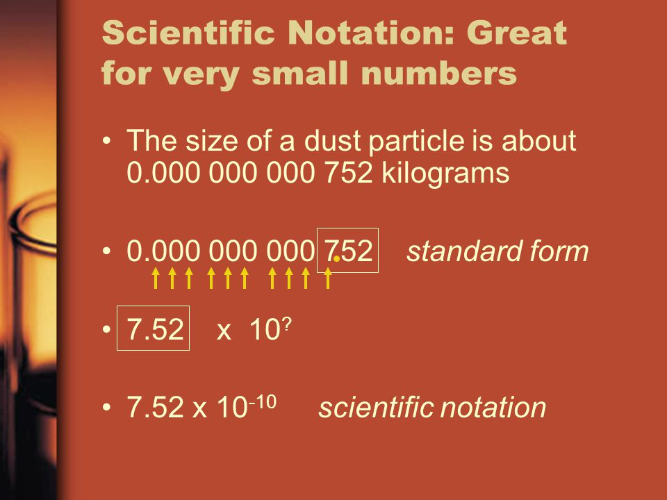 What does Scientific Notation look like on the HP 39G .