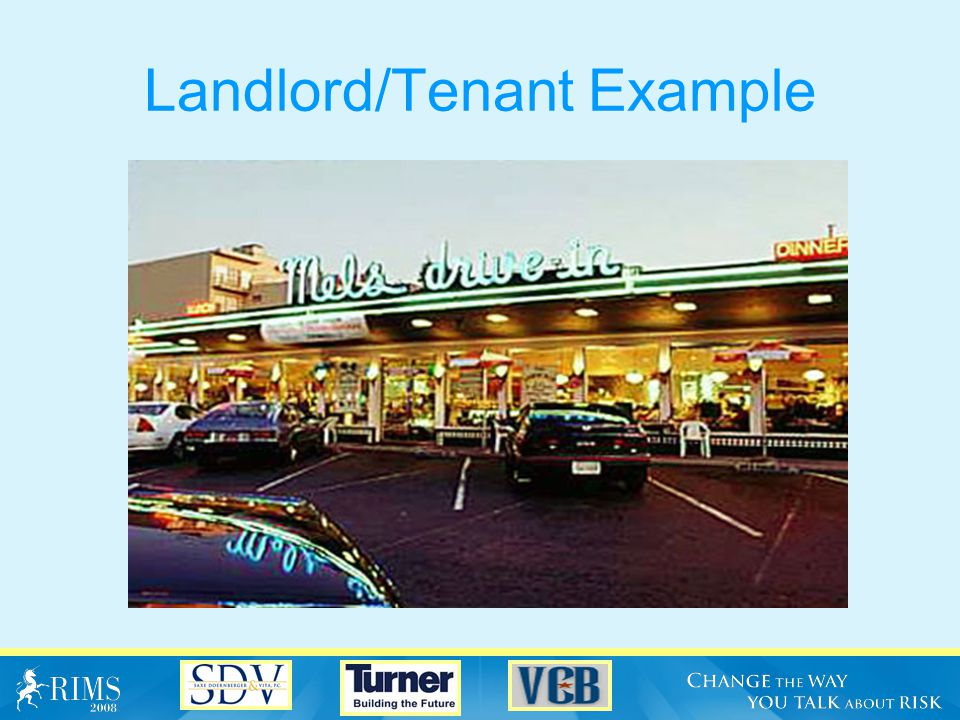 Landlord/Tenant Example