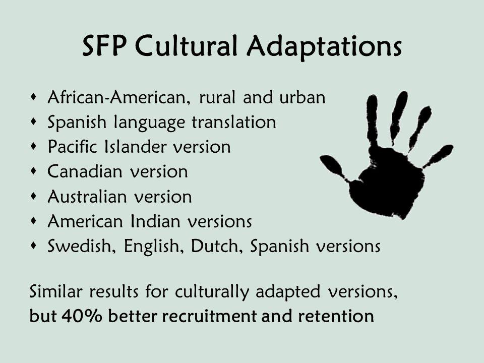 How to Contact Us Strengthening Families Program strengtheningfamiliesprogram.org American Indian SFP Ceceilia Tso AI/SFP Trainer Phone (801) 577-2668 E-mail: ctso2001@yahoo.com