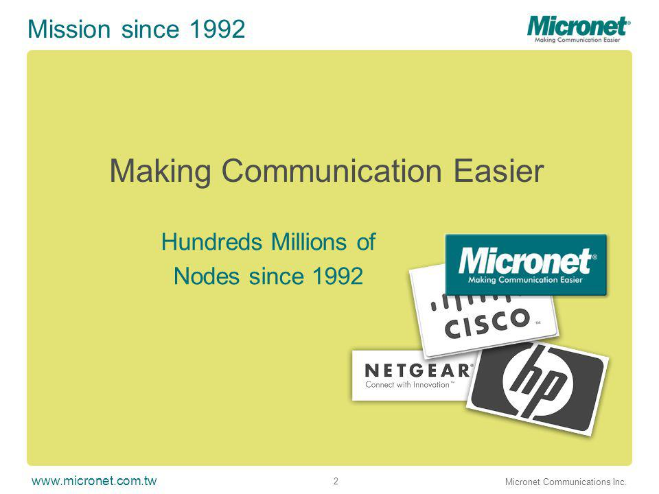 www.micronet.com.tw Micronet Communications Inc.