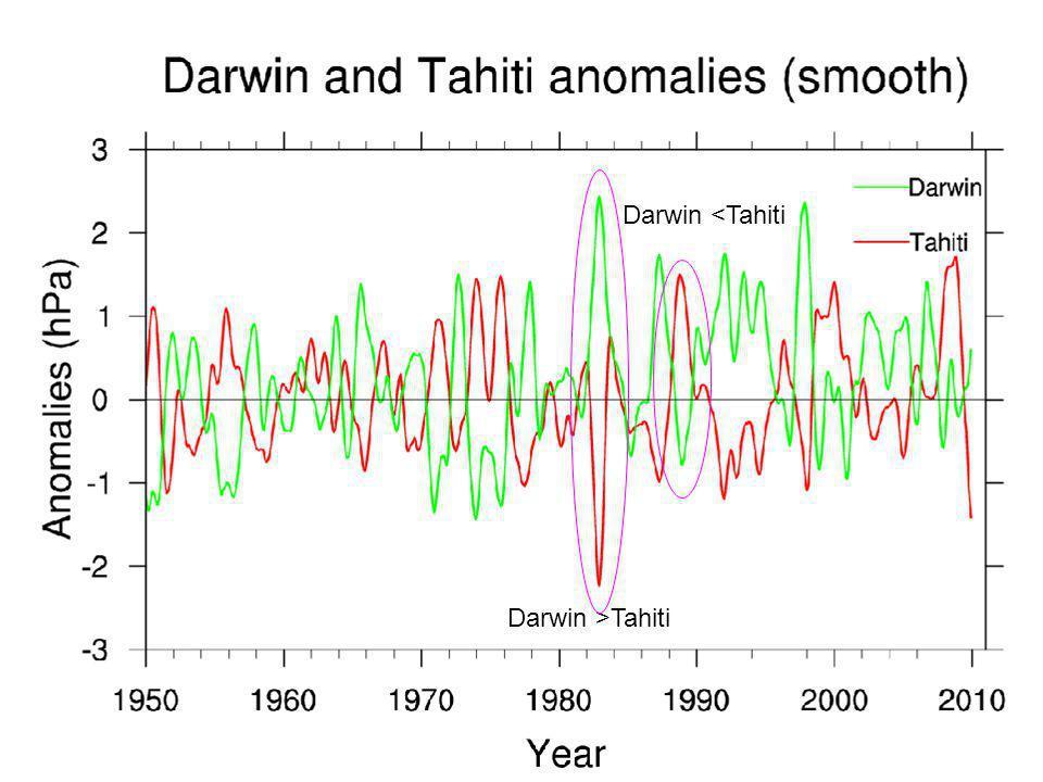 Darwin >Tahiti Darwin <Tahiti