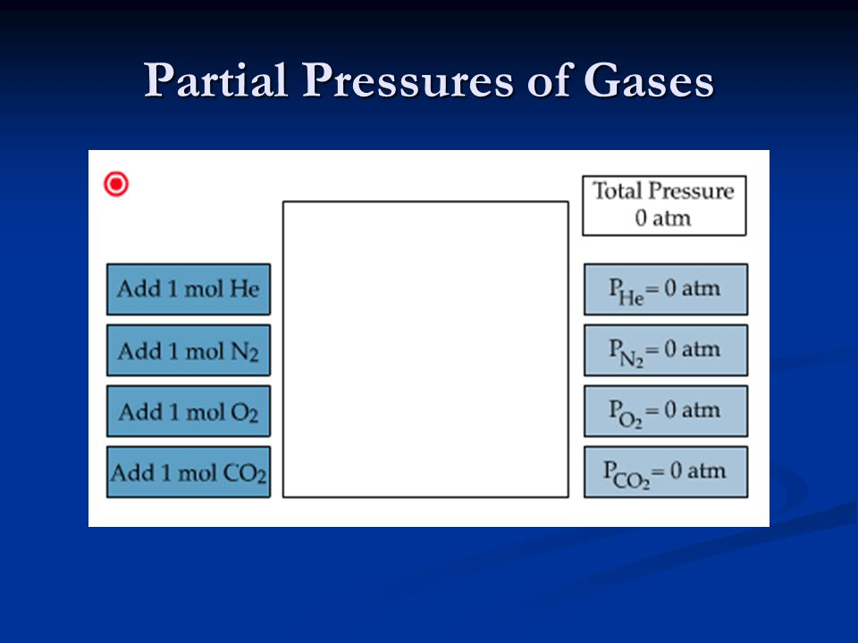 Partial Pressures of Gases