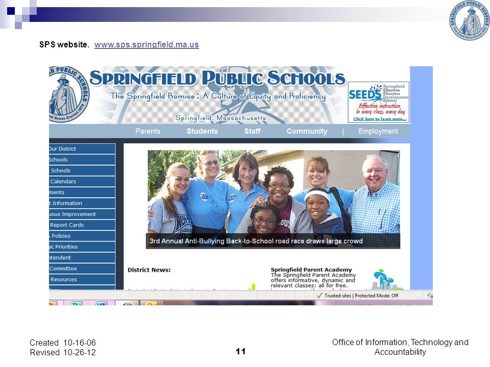 SPS website.