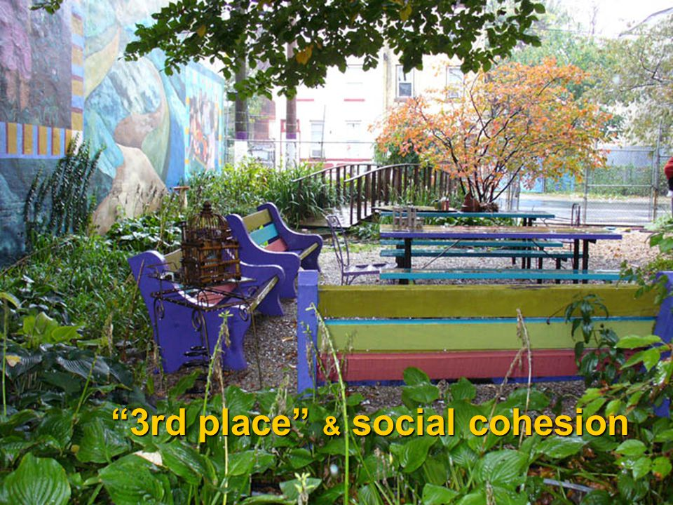 """""""3rd place"""" & social cohesion"""