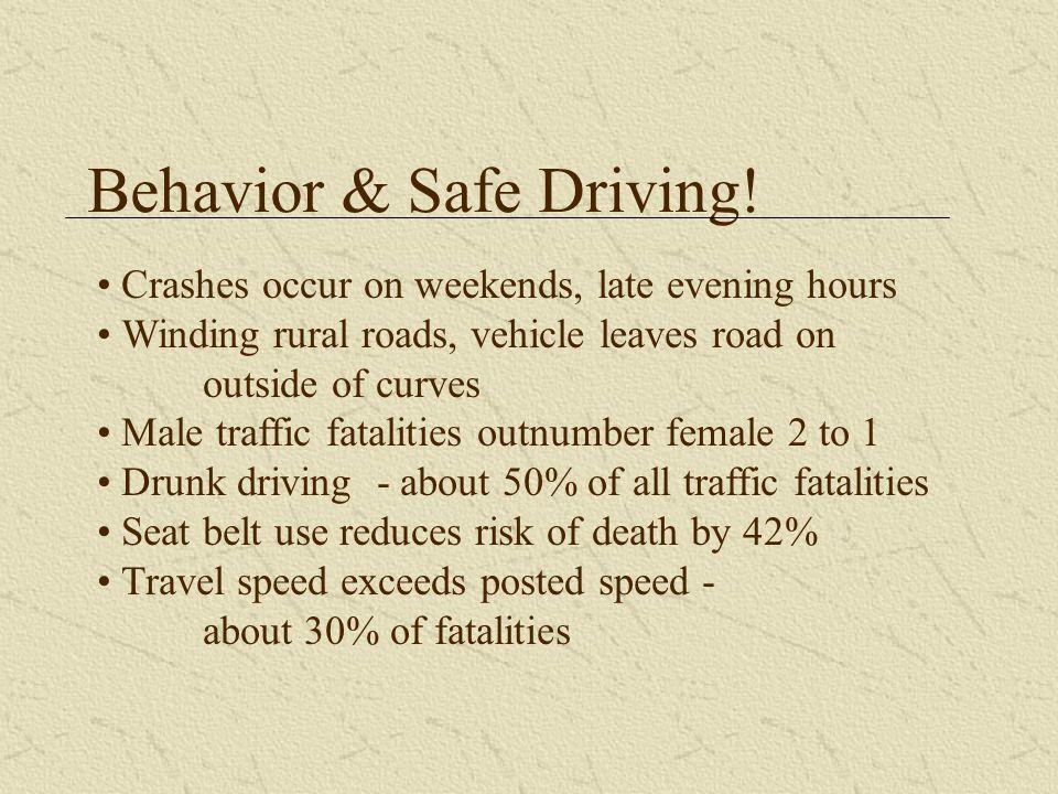 Behavior & Safe Driving.