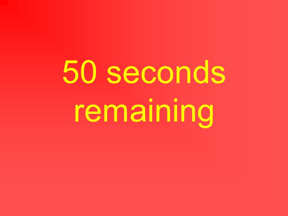 55 seconds remaining