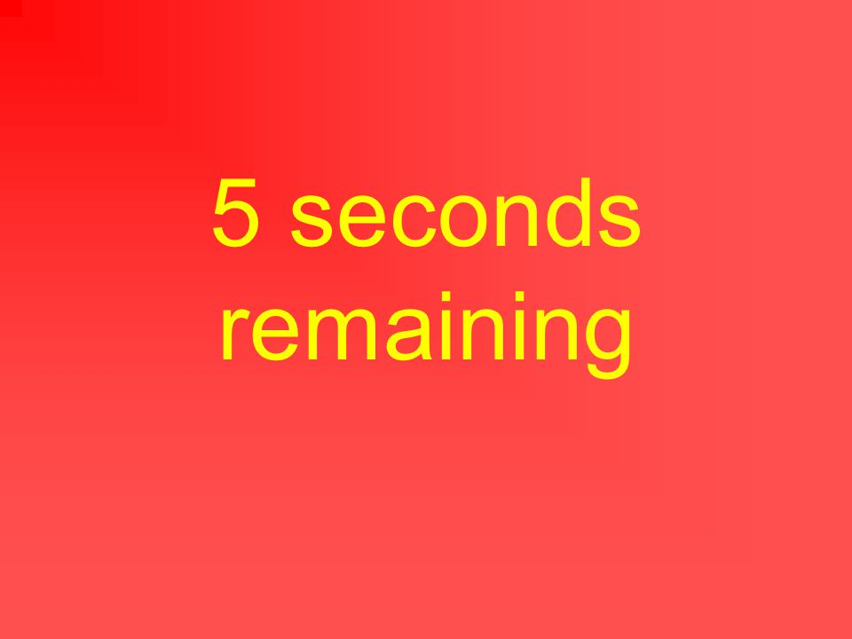 6 seconds remaining