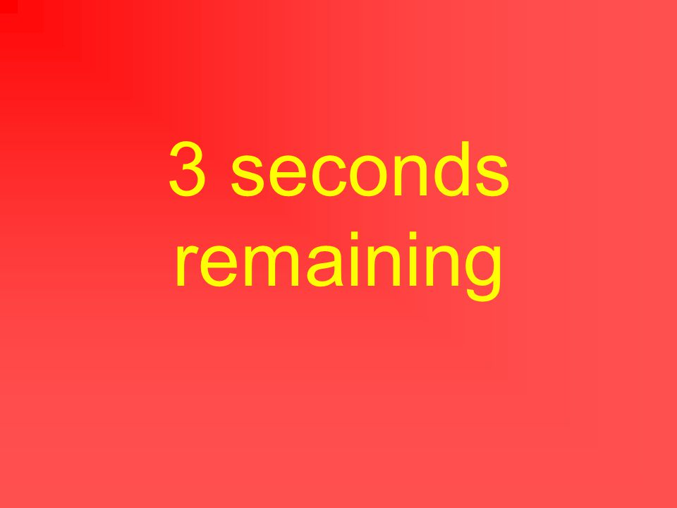 4 seconds remaining