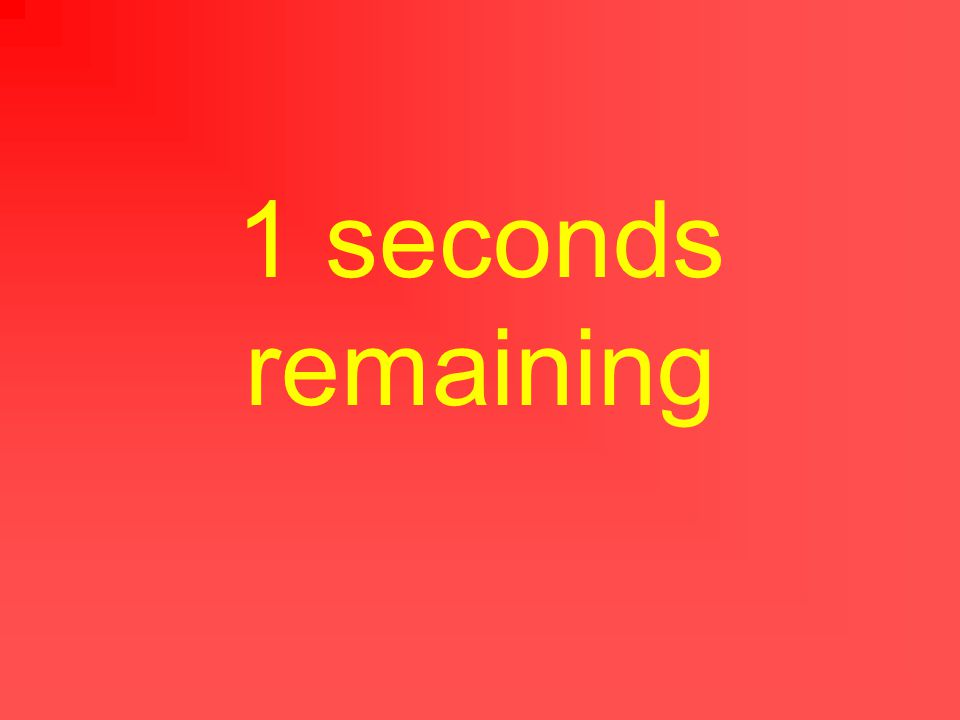 2 seconds remaining