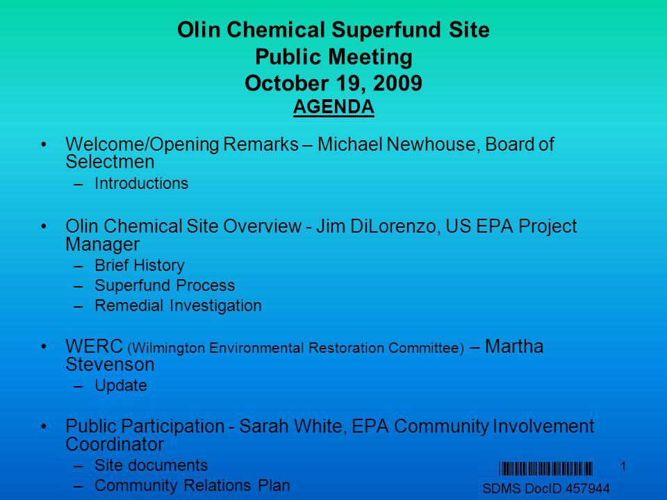 12 EPA/PRP Settlement Approved by EPA on June 28, 2007.