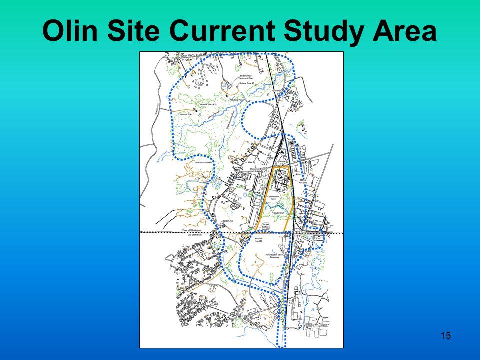 15 Olin Site Current Study Area