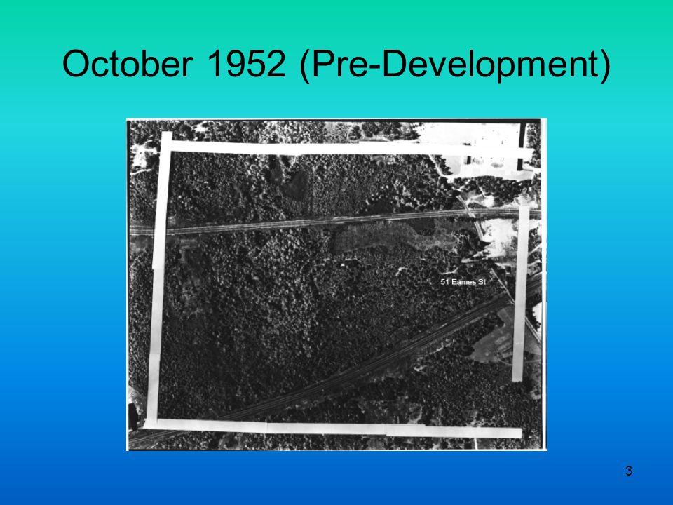 3 October 1952 (Pre-Development)