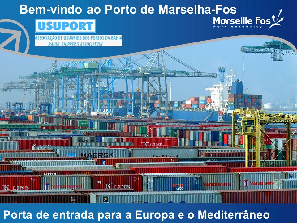 1 Bem-vindo ao Porto de Marselha-Fos Porta de entrada para a Europa e o Mediterrâneo