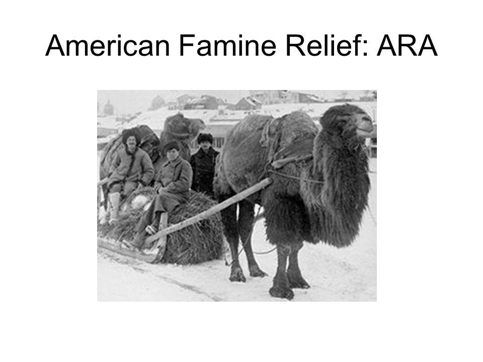 American Famine Relief: ARA