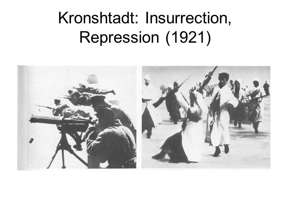 Kronshtadt: Insurrection, Repression (1921)