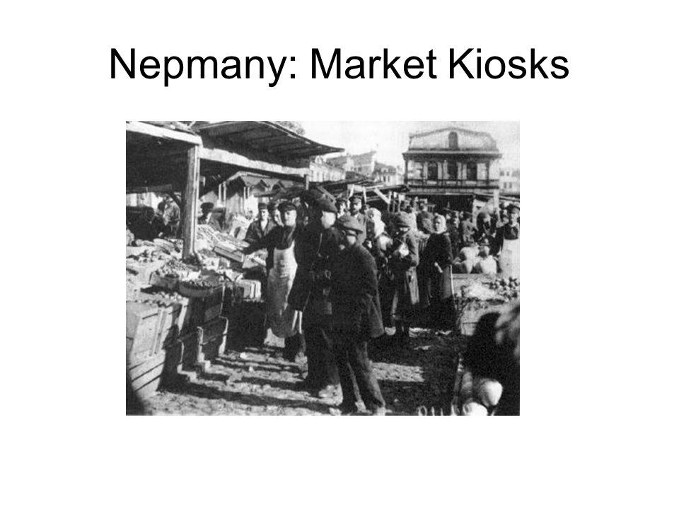 Nepmany: Market Kiosks