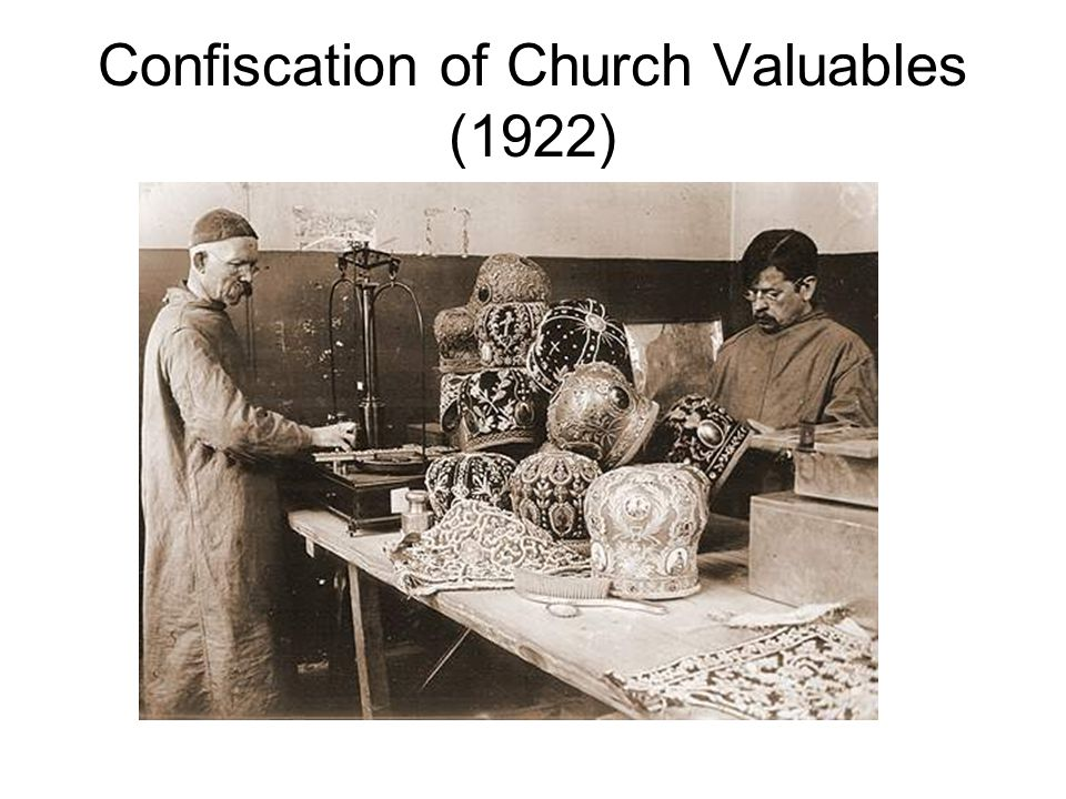 Confiscation of Church Valuables (1922)