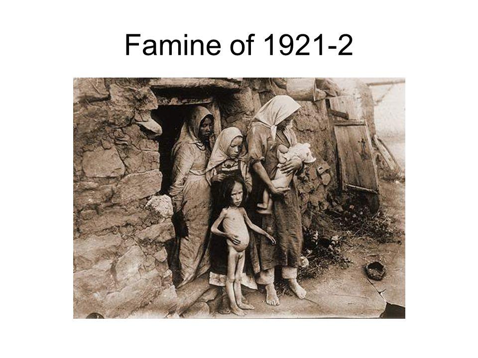 Famine of 1921-2