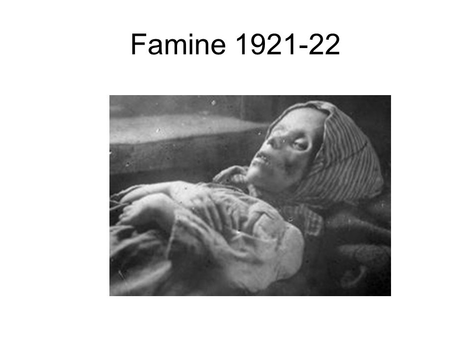 Famine 1921-22