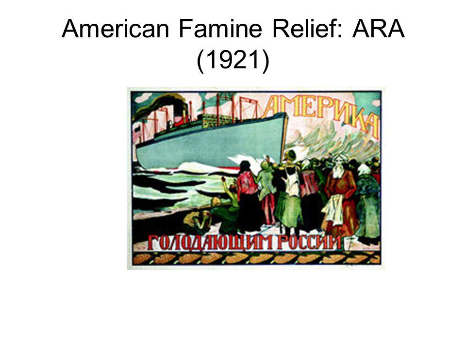 American Famine Relief: ARA (1921)